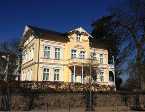 Frontansicht Villa Granitz